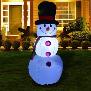 🎀 Frosty Inflatable Snowman 🎀 NEW